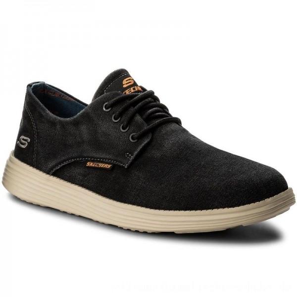 Skechers Halbschuhe Borges 64629/BLK Black [Outlet]