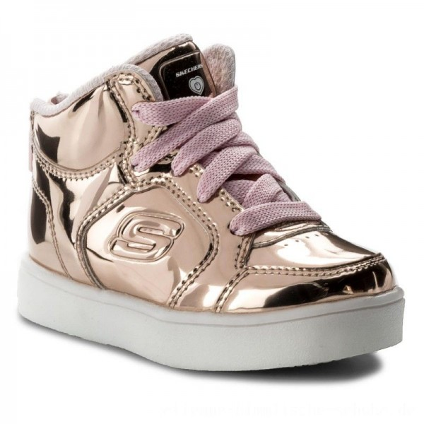 Skechers Schnürschuhe Lil'Dazzlers 10857N/RSGD Rose Gold [Outlet]
