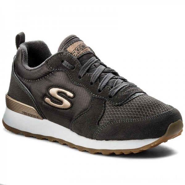 Skechers Sneakers Goldn Gurl 111/CCL Charcoal [Outlet]
