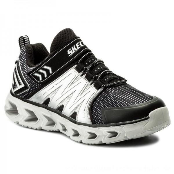 Skechers Halbschuhe Hypno-Flash 2.0 90585L/BKSL Black/Silver [Outlet]