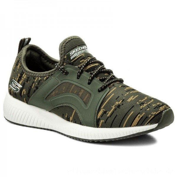 Skechers Schuhe BOBS SPORT Double Dare 31363/OLV Olive [Outlet]