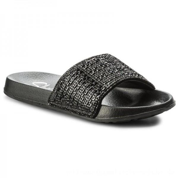 Skechers Pantoletten Summer Chic 31546/BBK Black