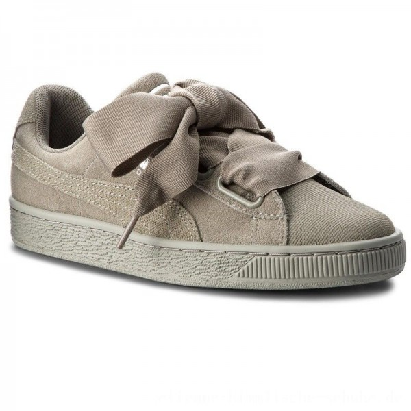 Puma Sneakers Suede Heart Pebble Wn's 365210 02 Rock Ridge/Rock Ridge [Outlet]