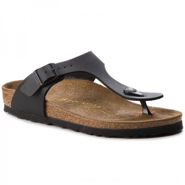 [BLACK FRIDAY] Birkenstock Zehentrenner Gizeh 0043693 Black