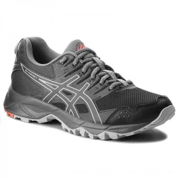 Asics Schuhe Gel-Sonoma 3 T774N Black/Dark Grey 001 [Outlet]