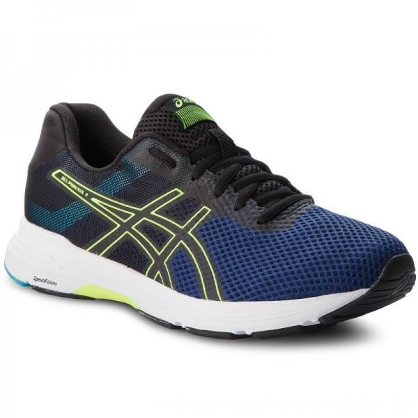 Asics Schuhe Gel-Phoenix 9 T822N Deep Ocean/Flash Yellow 400 [Sale]