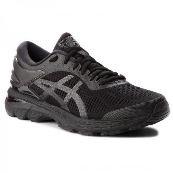 Asics Schuhe Gel-Kayano 25 1011A019 Black/Black 002 [Outlet]