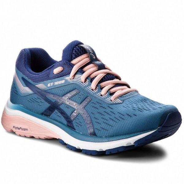 Asics Schuhe GT-1000 7 1012A030 Azure/Blue Print 400 [Outlet]