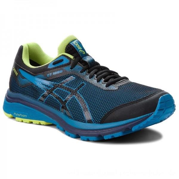 Asics Schuhe GT-1000 7 G-Tx GORE-TEX 101A037 Black/Race Blue 001 [Sale]