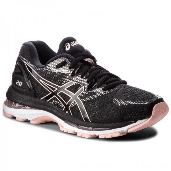 Asics Schuhe Gel-Nimbus 20 T850N Black/Frosted Rose 001 [Sale]