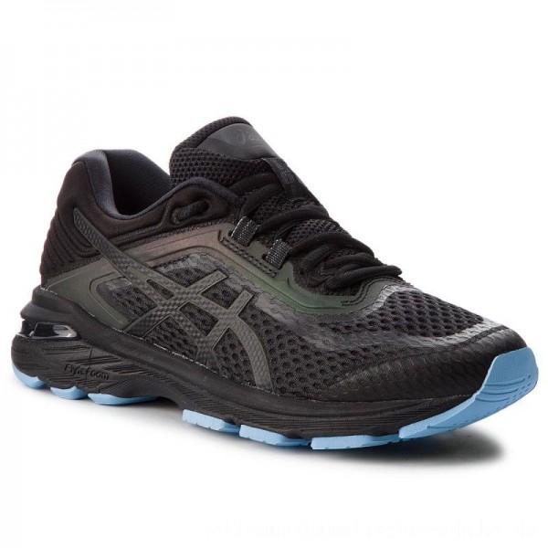 Asics Schuhe Gt-2000 6 Lite-Show 1012A169 Black/Black 001
