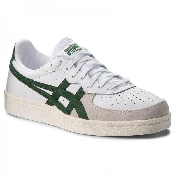 Asics Sneakers ONITSUKA TIGER Gsm D5K2Y White/Hunter Green 101 [Outlet]