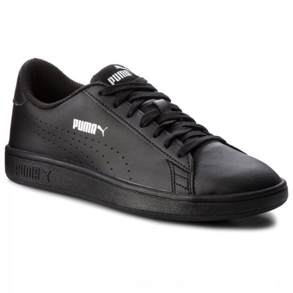 Puma Sneakers Smash V2 L Perf 365213 01 Black/Puma Black [Outlet]