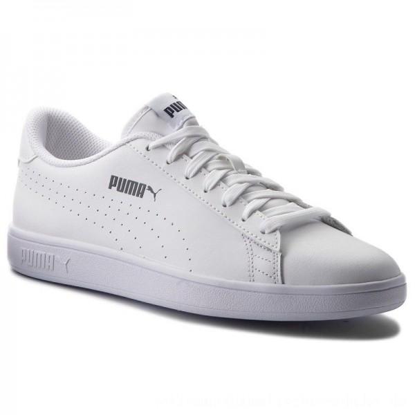 Puma Sneakers Smash V2 L Perf 365213 02 White/Puma White [Sale]