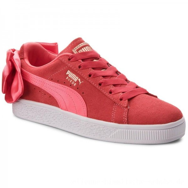 Puma Sneakers Suede Bow Jr 367316 02 Paradise Pink/Paradise Pink [Outlet]