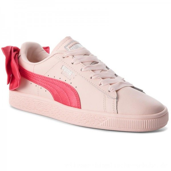 Puma Sneakers Basket Bow Jr 367321 02 Paradise Pink/Paradise Pink [Outlet]