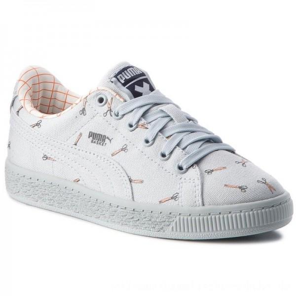 Puma Sneakers X Tc Basket Cvs Ps 364559 01 Illusion Blue/Illusion Blue [Outlet]