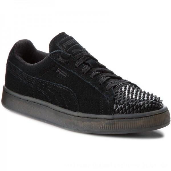 Puma Sneakers Suede Jelly 365859 01 Black/Puma Black [Sale]