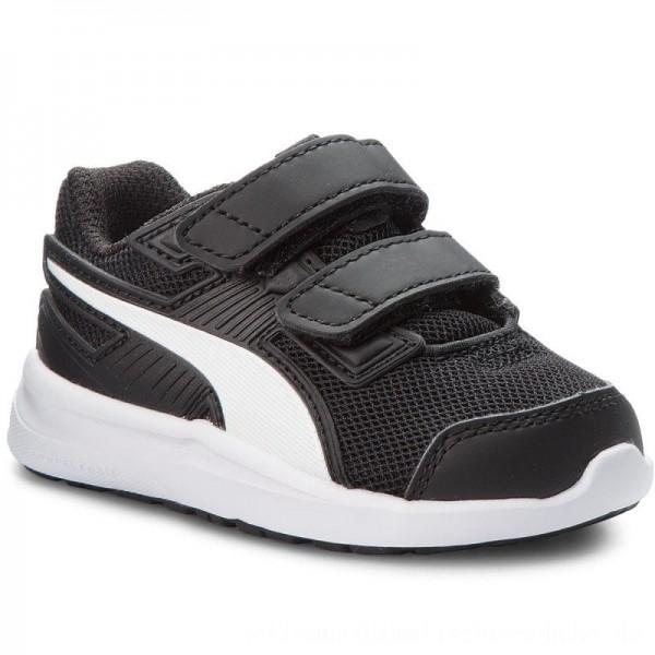 Puma Sneakers Escaper Mesh V Inf 190327 08 Black/White/Firecracker [Outlet]