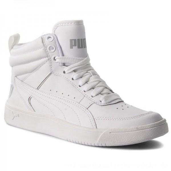 Puma Sneakers Rebound Street V2 L Jr 363913 02 White/Puma White [Outlet]