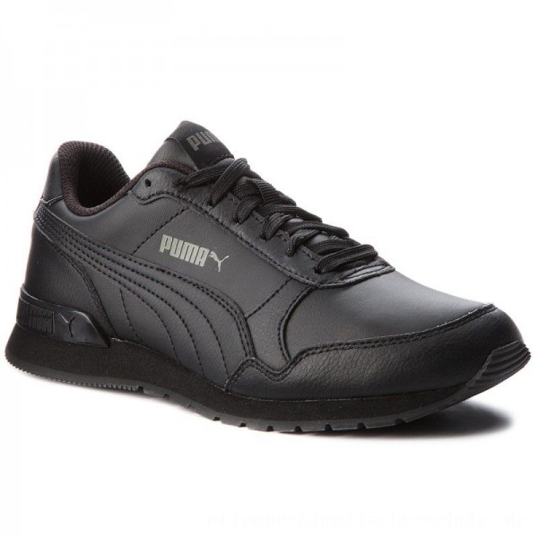 [BLACK FRIDAY] Puma Sneakers St Runner V2 L Jr 366959 01 Black/Dark Shadow