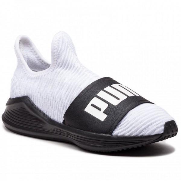 Puma Schuhe Fierce Slide Wn's 191161 03 White/Puma Black [Outlet]