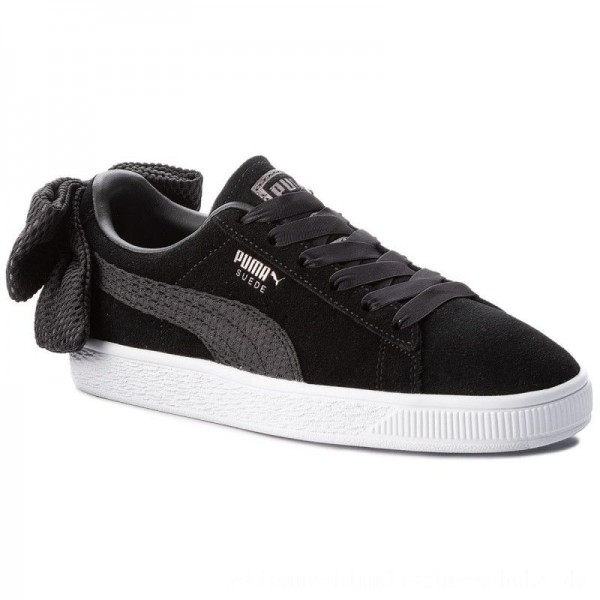 [BLACK FRIDAY] Puma Sneakers Suede Bow Uprising Wn's 367455 01 Black/Puma White