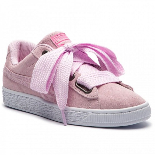 Puma Sneakers Suede Heart Street 2 Wn's 366780 03 Winsome Orchid [Sale]