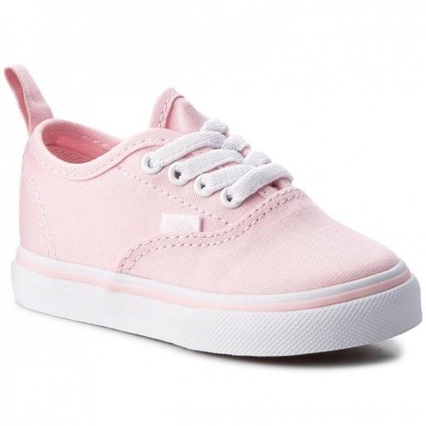 Vans Turnschuhe Authentic Elastic VN0A38E8Q1C Chalk Pink/True White [Outlet]