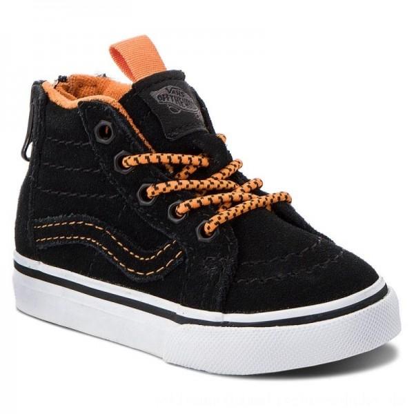 Vans Sneakers Sk8-Hi Zip VN0A32R3U4G1 (Mte) Orange/Black