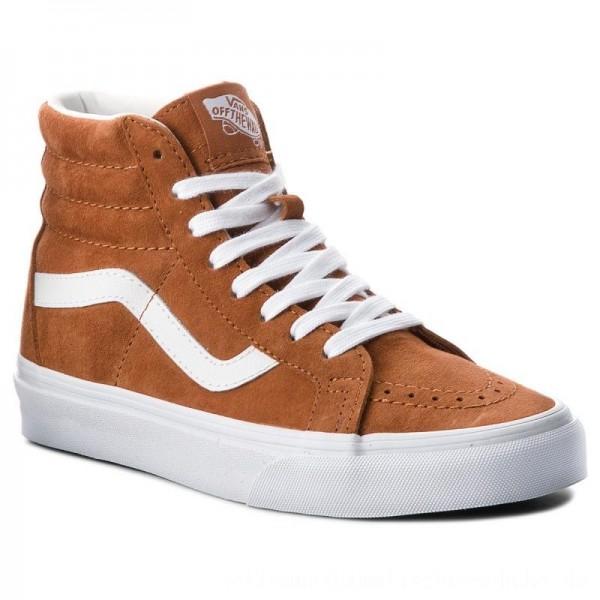 Vans Sneakers Sk8-Hi Reissue VN0A2XSBU5K (Pig Suede) Leather Brown