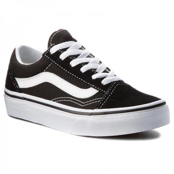 Vans Turnschuhe Old Skool VN000W9T6BT Black/True White [Outlet]