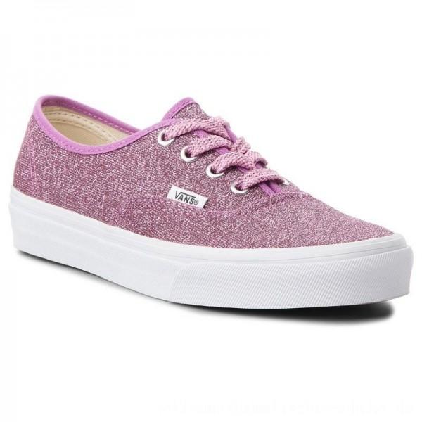 Vans Turnschuhe Authentic VN0A38EMU3U (Lurex Glitter) Pink/True [Outlet]