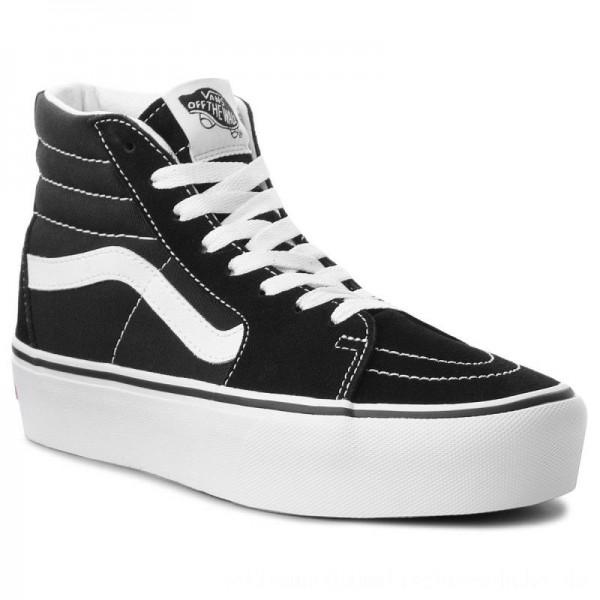 Vans Sneakers Sk8-Hi Platform 2 VN0A3TKN6BT Black/True White [Sale]