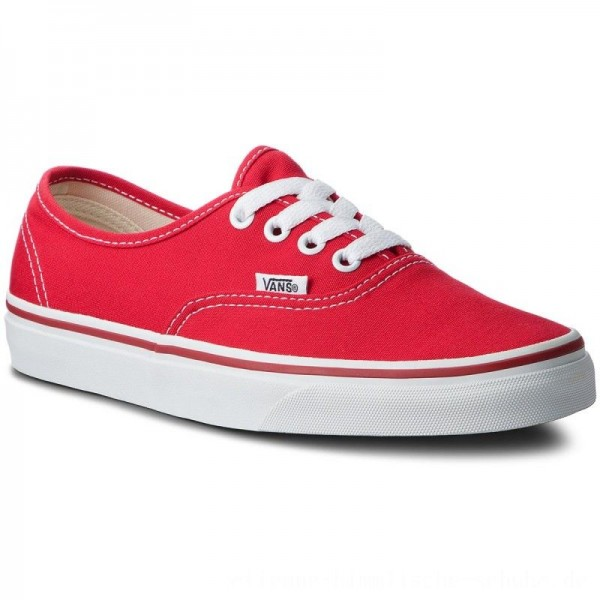 Vans Turnschuhe Authentic VN000EE3RED Red [Outlet]