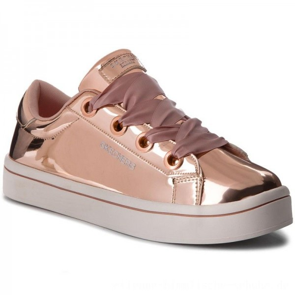 Skechers Sneakers Liquid Bling 84693L/RSGD Rose Gold [Outlet]