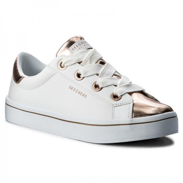 Skechers Sneakers Medal Toes 982/WTRG White Rose Gold