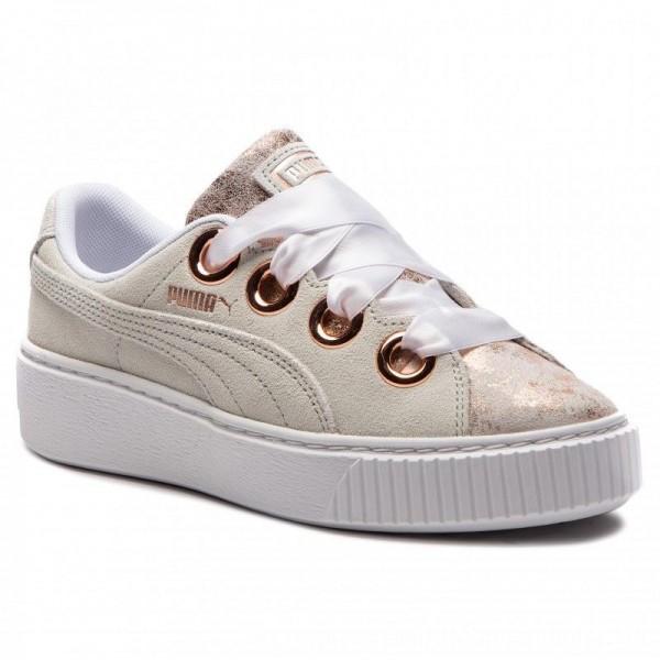 Puma Sneakers Platform Kiss Artica Wn's 366707 01 White/Puma White [Outlet]
