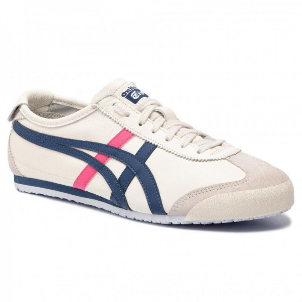 Asics Sneakers ONITSUKA TIGER Mexico 66 1182A078 Cream/Midnight Blue 103 [Sale]
