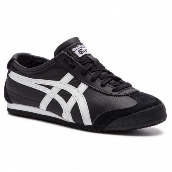 Asics Sneakers ONITSUKA TIGER Mexico 66 DL408 Black/White 9001 [Sale]
