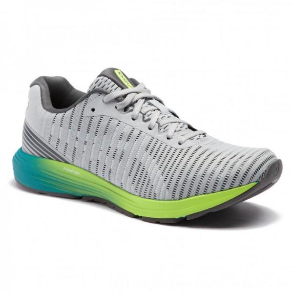 Asics Schuhe DynaFlyte 3 1011A002 Mid Grey/White 021 [Outlet]