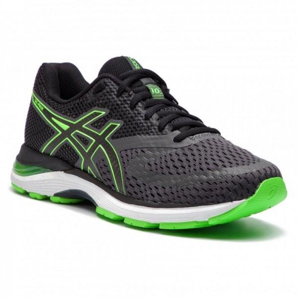 Asics Schuhe Gel-Pulse 10 1011A007 Dark Grey/Green Gecko 021 [Outlet]