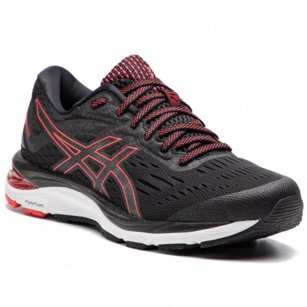 Asics Schuhe Gel-Cumulus 20 1011A008 Black/Red Alert 001 [Sale]