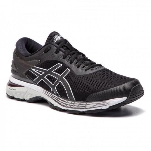 Asics Schuhe Gel-Kayano 25 1011A019 Black/Glacier Grey 003 [Sale]