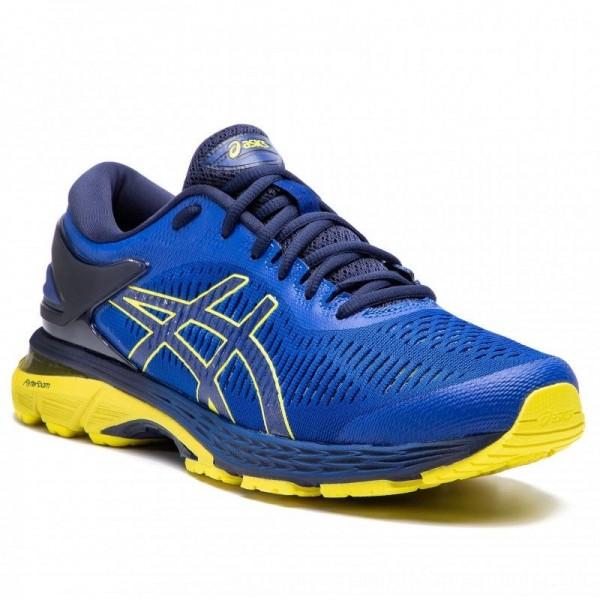Asics Schuhe Gel-Kayano 25 1011A019 Blue/Lemon Spark 401 [Outlet]