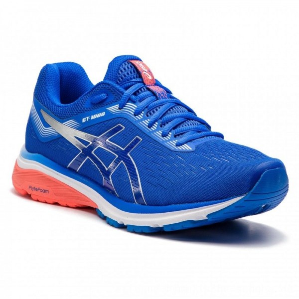 Asics Schuhe GT-1000 7 1011A042 Illusion Blue/Silver 405