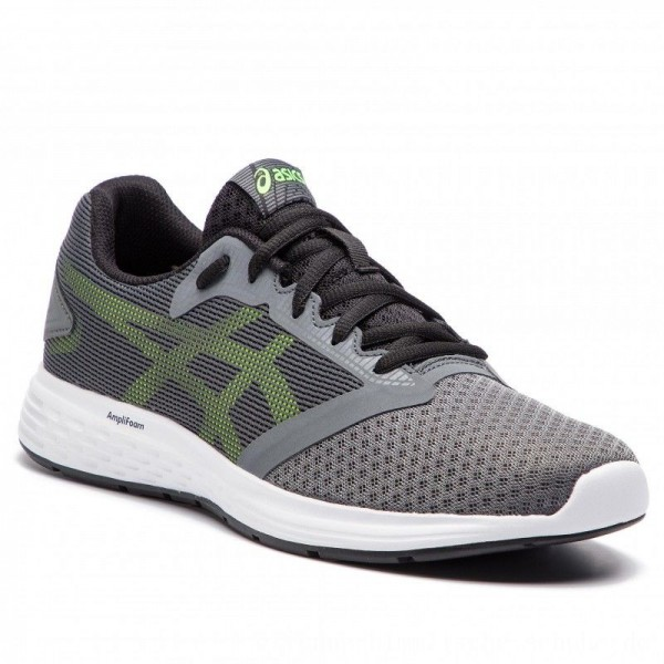 Asics Schuhe Patriot 10 1011A131 Steel Grey/Hazard Green 031 [Outlet]