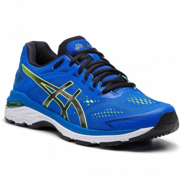 Asics Schuhe GT-2000 7 1011A158 Illusion Blue/Black 401 [Outlet]