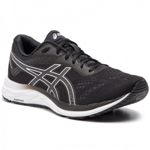 Asics Schuhe Gel-Excite 6 1011A165 Black/White 001 [Outlet]