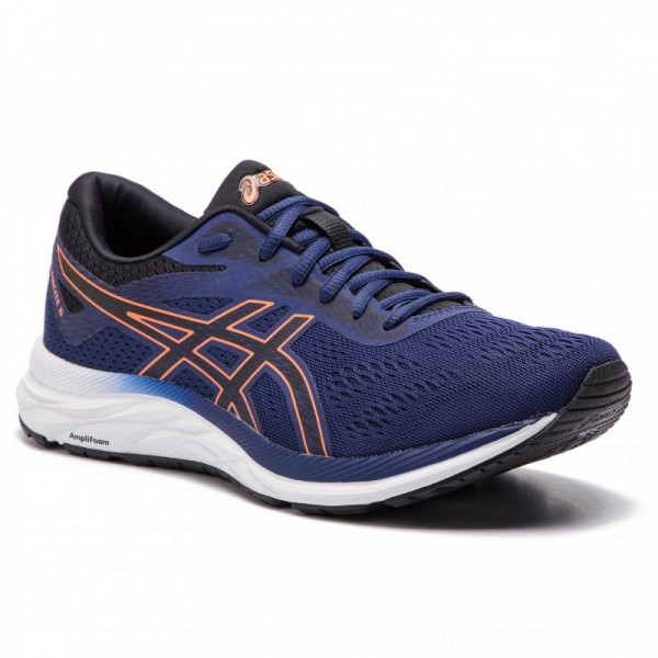 Asics Schuhe Gel-Excite 6 1011A165 Indigo Blue/Shocking Orange 400 [Sale]
